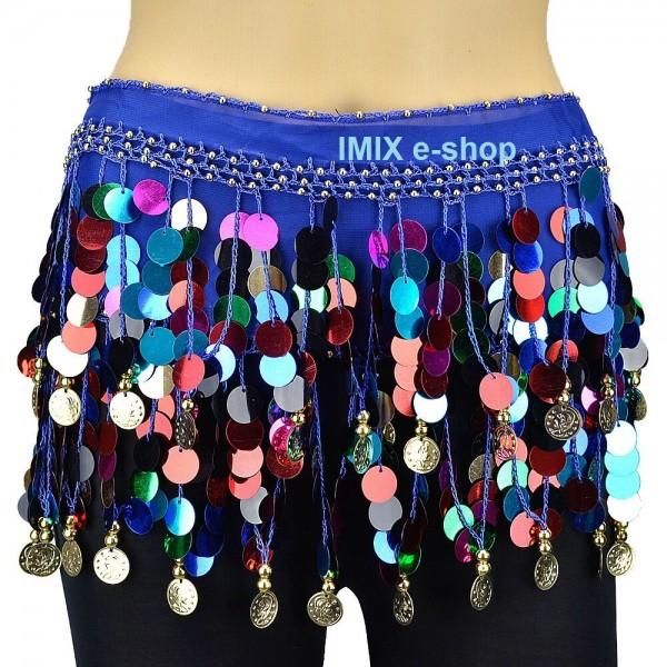 Penízkový šátek MAHAD barevný - AKCE