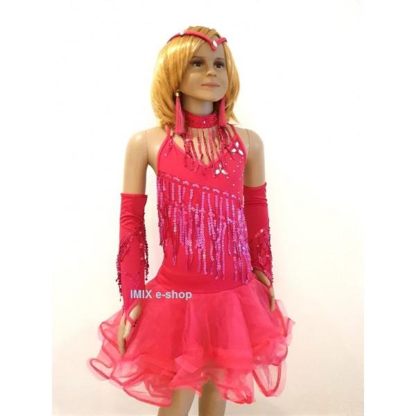 AKCE - dívčí taneční Latino kostým RIO velký set