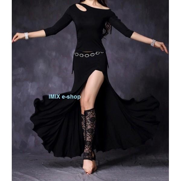 Dlouhé dvoudílné taneční šaty Alexis