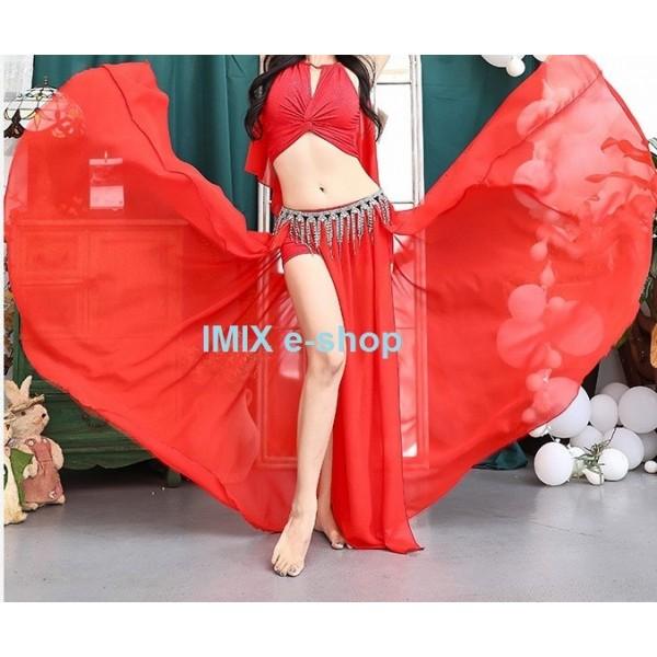 Taneční dvoudílné třpytivé šaty Ariel