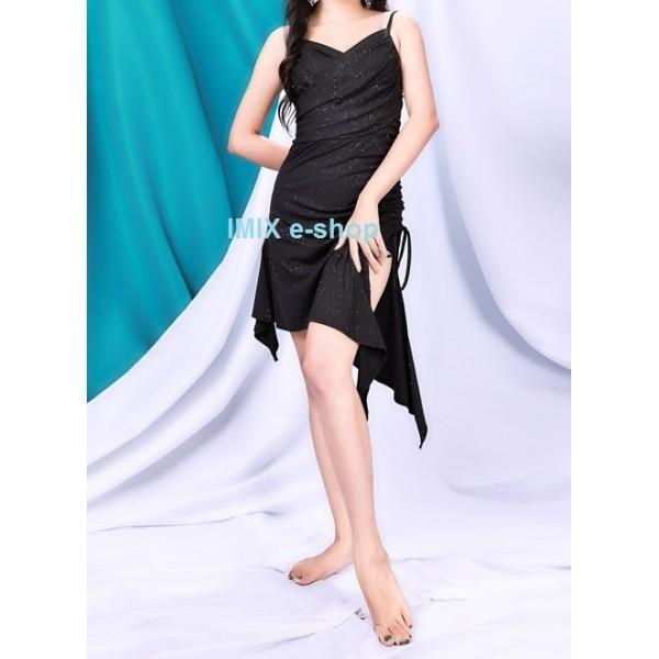 Univerzální stahovací taneční třpytivé šaty Lusia