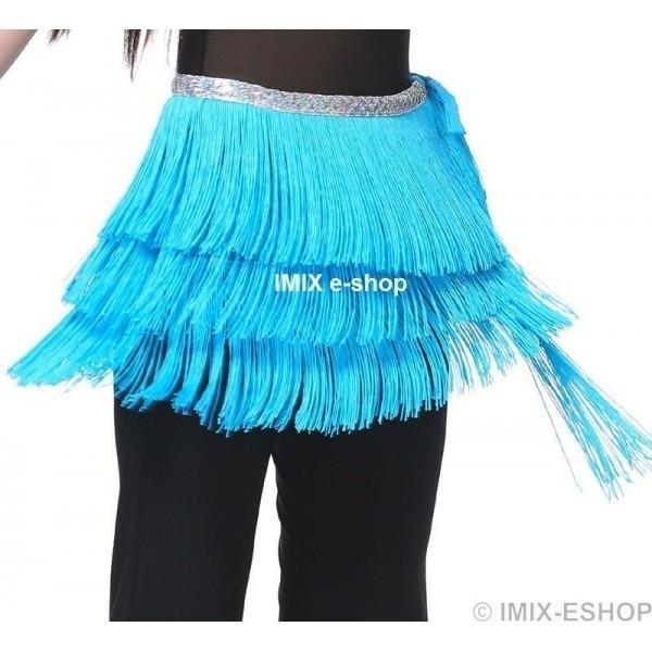 Třásňový šátek HABÍBA - AKCE