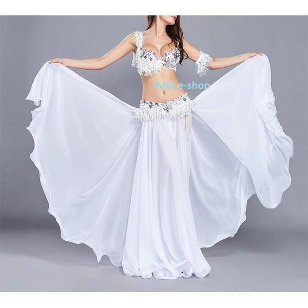 Čtyřdílný taneční kostým sněhový FROZEN