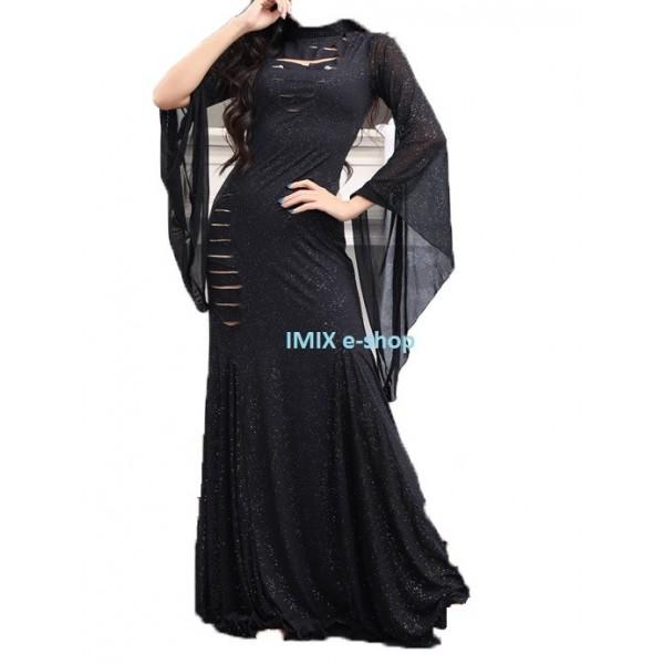 Dlouhé taneční Saidi šaty s prostřihy Zenith