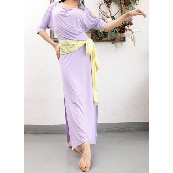 Moderní Saidi Baladi šaty se šátkem a čelenkou Lenna