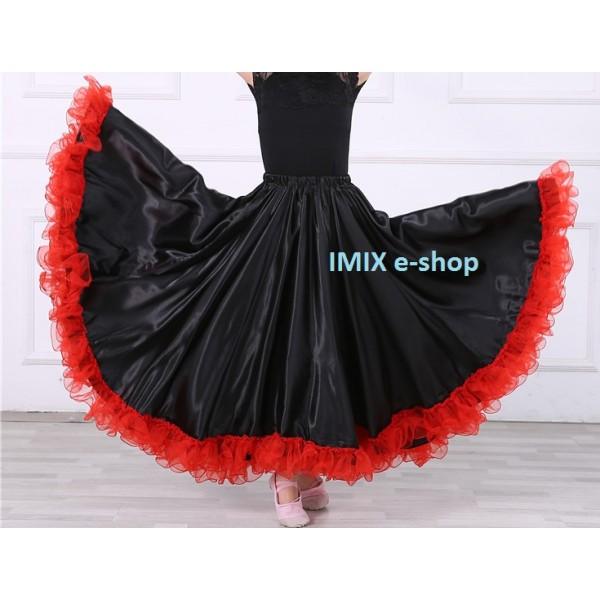 Dívčí Flamenco sukně s volánem Angela - více barev