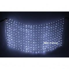 LED hedvábný závoj světelný na USB - více barev