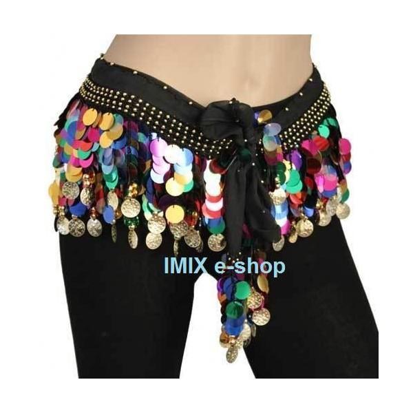 Penízkový flitrový šátek MAHAD