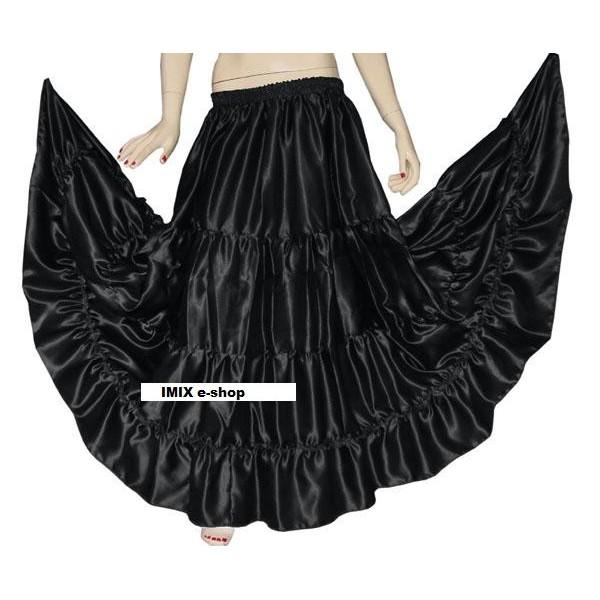 Saténové sukně LAMESS na míru