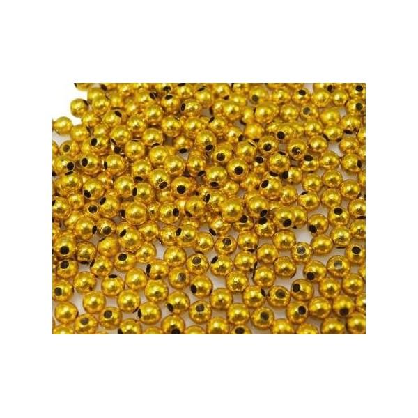 Kuličky plastové zlaté - větší