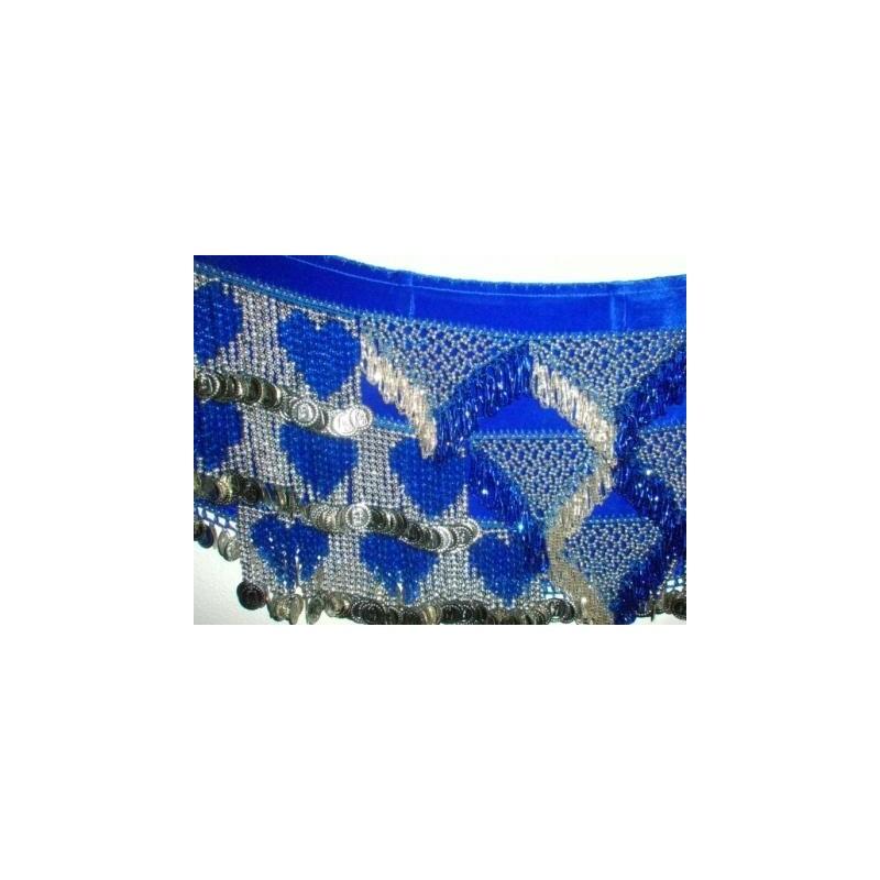 Egyptský sametový šátek AMEERA - doprodej