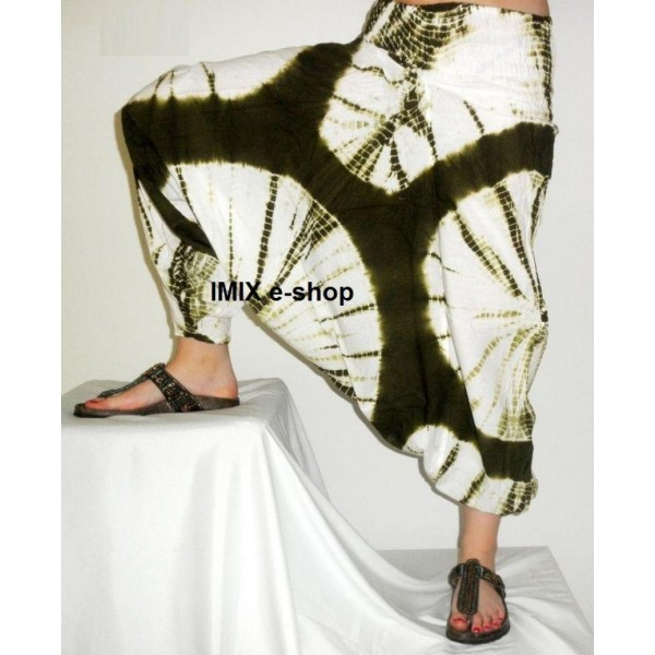 Afgani široké kalhoty BATIKA