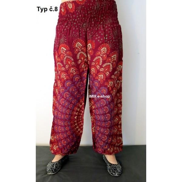 Harémové kalhoty sultánky MANDALA