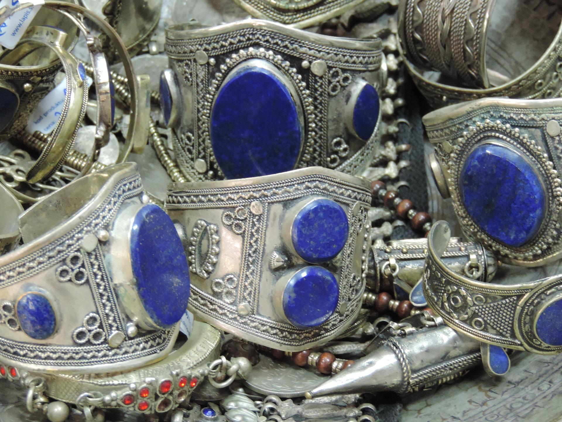 Lapis lazuli šperky